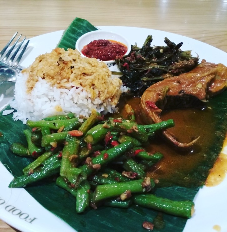Indonesian Fish and Veggies