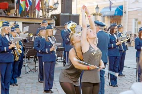 Тарту, Естония. Фестивал на духовата музика.