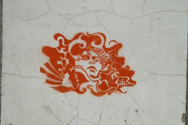 Тарту, Естония. Графити.