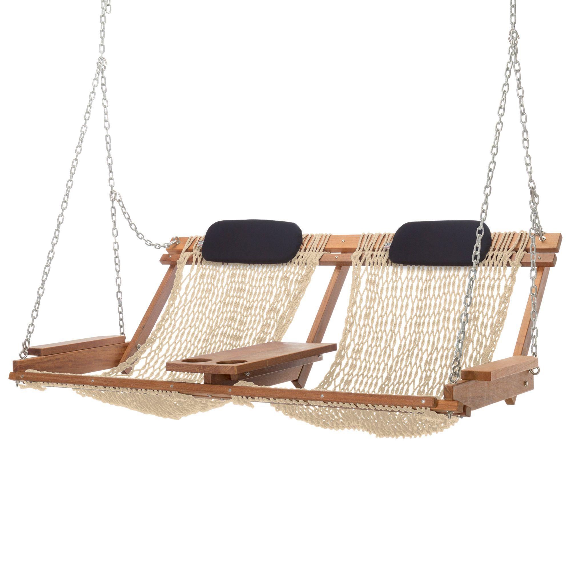 Cumaru Deluxe Double Porch Swing
