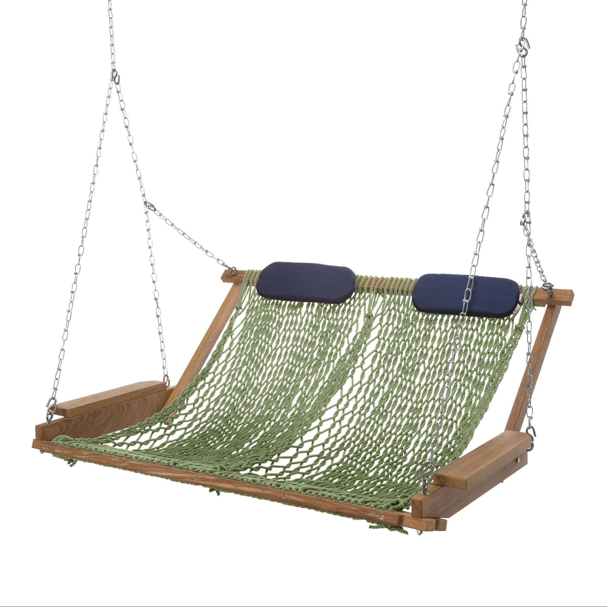 Cumaru Deluxe Rope Porch Swing