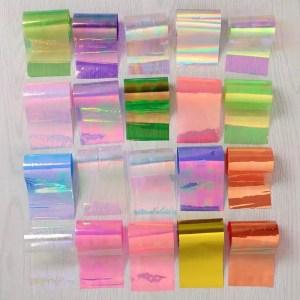 Folija - stikliniams nagams 50 vnt