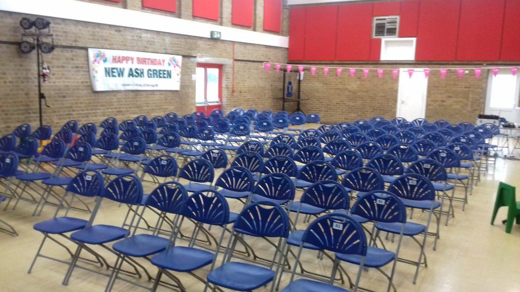 Village Hall - Theatre Style Layout