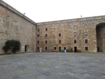 A vár belső udvara