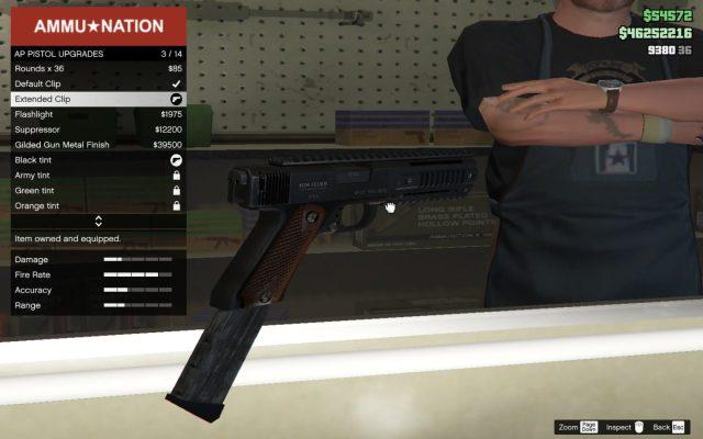 GTA Online AP Pistol