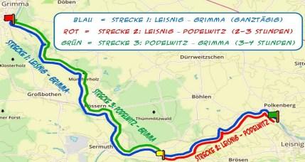 Karte Freiberger Mulde Webseite
