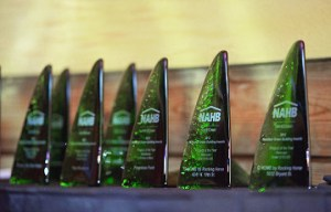 Green Awards Trophies
