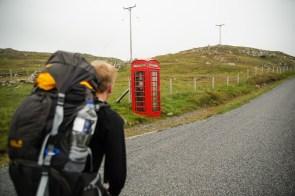 Leicht zu erkennen, zu welchem Land die Shetlands gehören (Mainland)