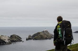 Der nördlichste Punkt unserer Reise - Muckle Flugga (Unst)