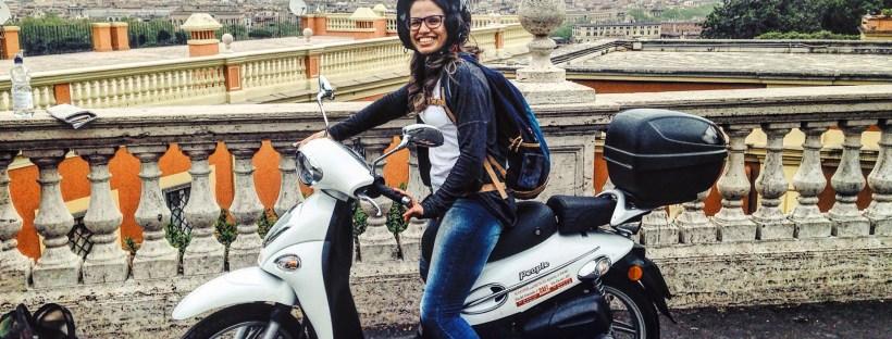 Alugar scooter em Roma
