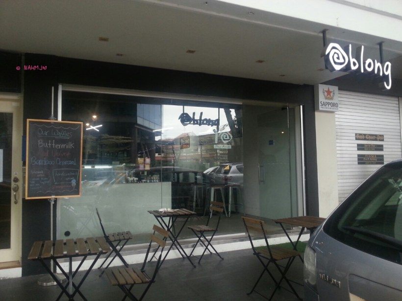 Oblong Ice Cream - Shop Front