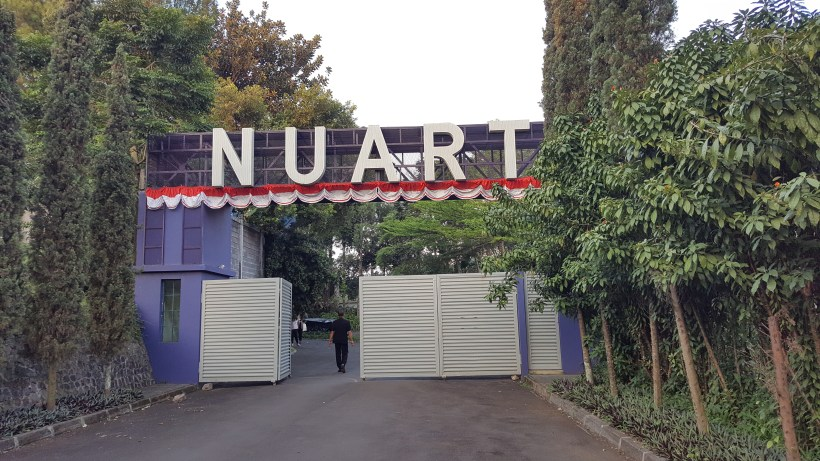 NuArt Sculpture Park at Bandung, Indonesia - Main Entrance