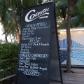Coastes By Siloso Beach, Introducing New Dishes - Signage