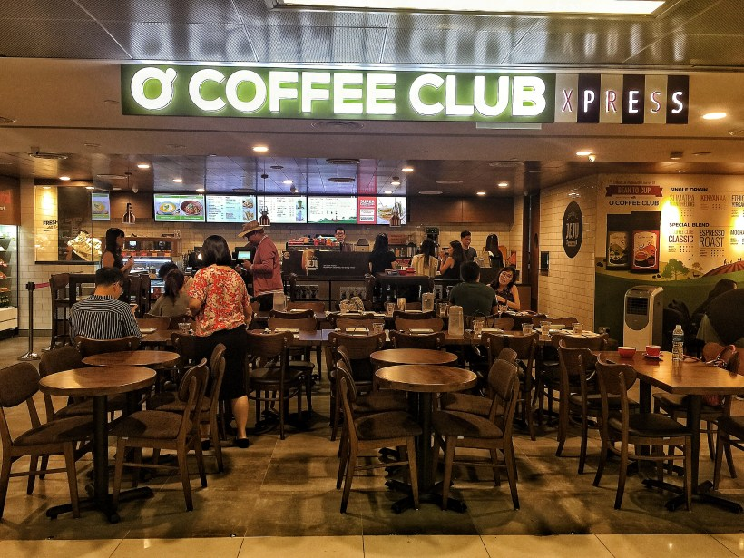 O'Coffee Club Xpress @ Raffles Xchange, O'Coffee Club Launches 'Grab & Go' Concept – Facade