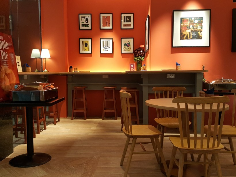 Grand Jete Cafe & Bar At Ngee Ann City Tower B Offering Comfort Japanese-Western Food - Another Interior View