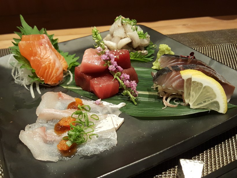The Art Of Sashimi Cutting With Sashimi 101 Lesson By Chef Hara Of Kanda Wadatsumi - Five Type of Cut