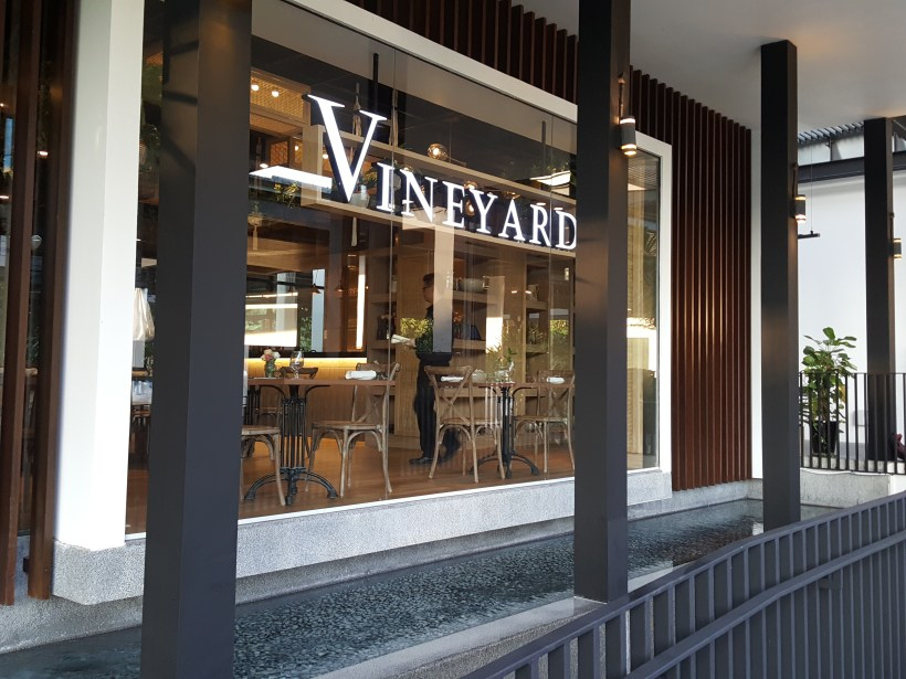 Vineyard At HortPark, Re-opened With Lushy Theme And Localised Menu - Facade