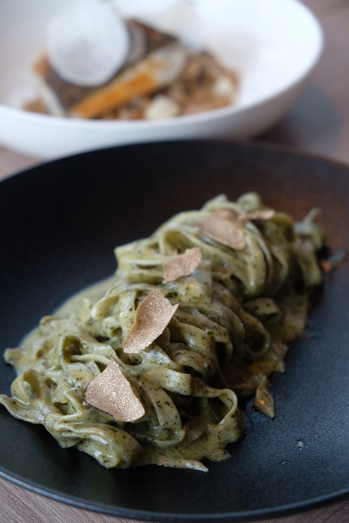 LeVeL33 Craft-Brewery Restaurant & Lounge - Spent Grain Linguine, V ($28)