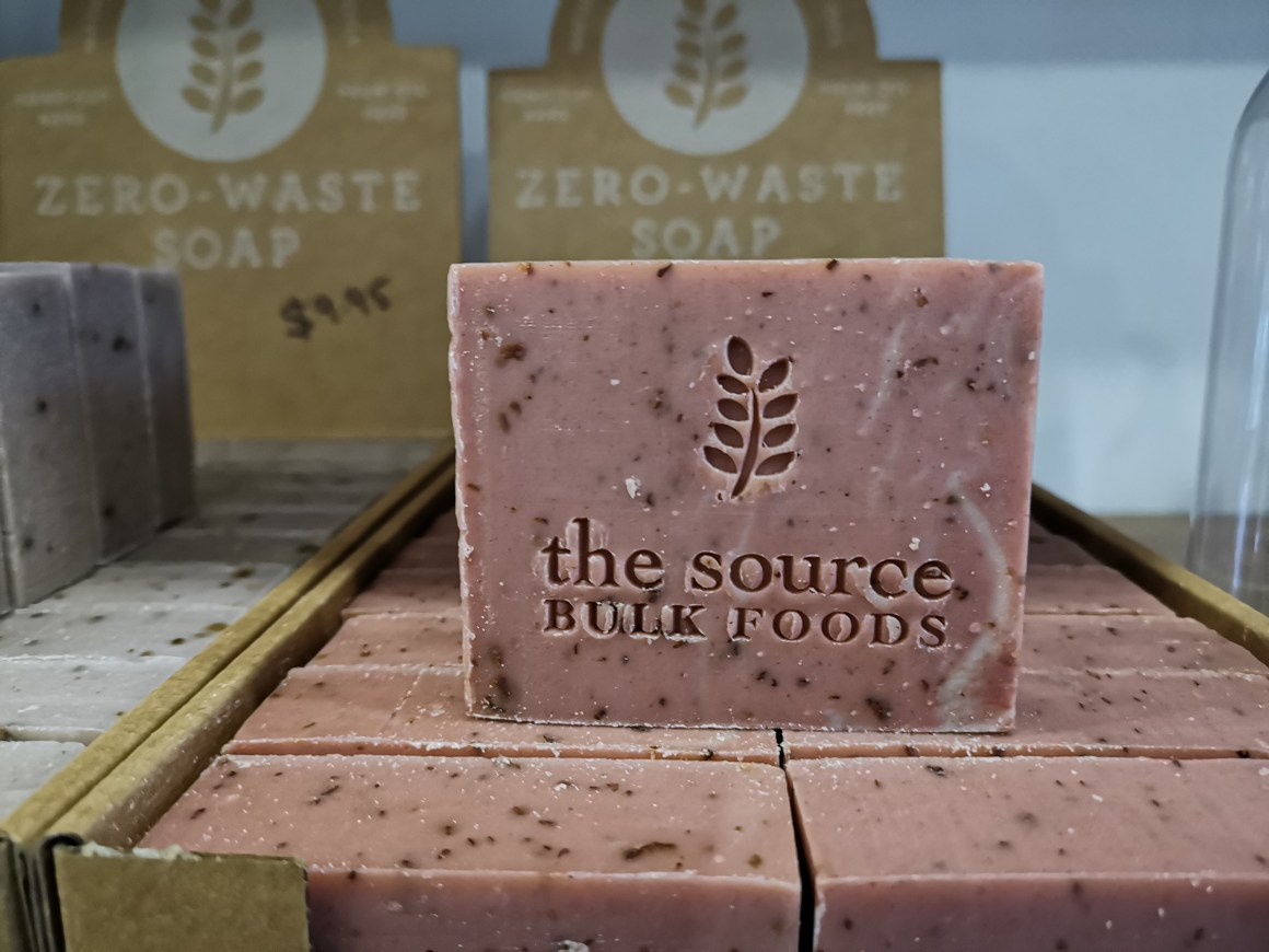 Source Bulk Foods Now At Cluny Court - Soap