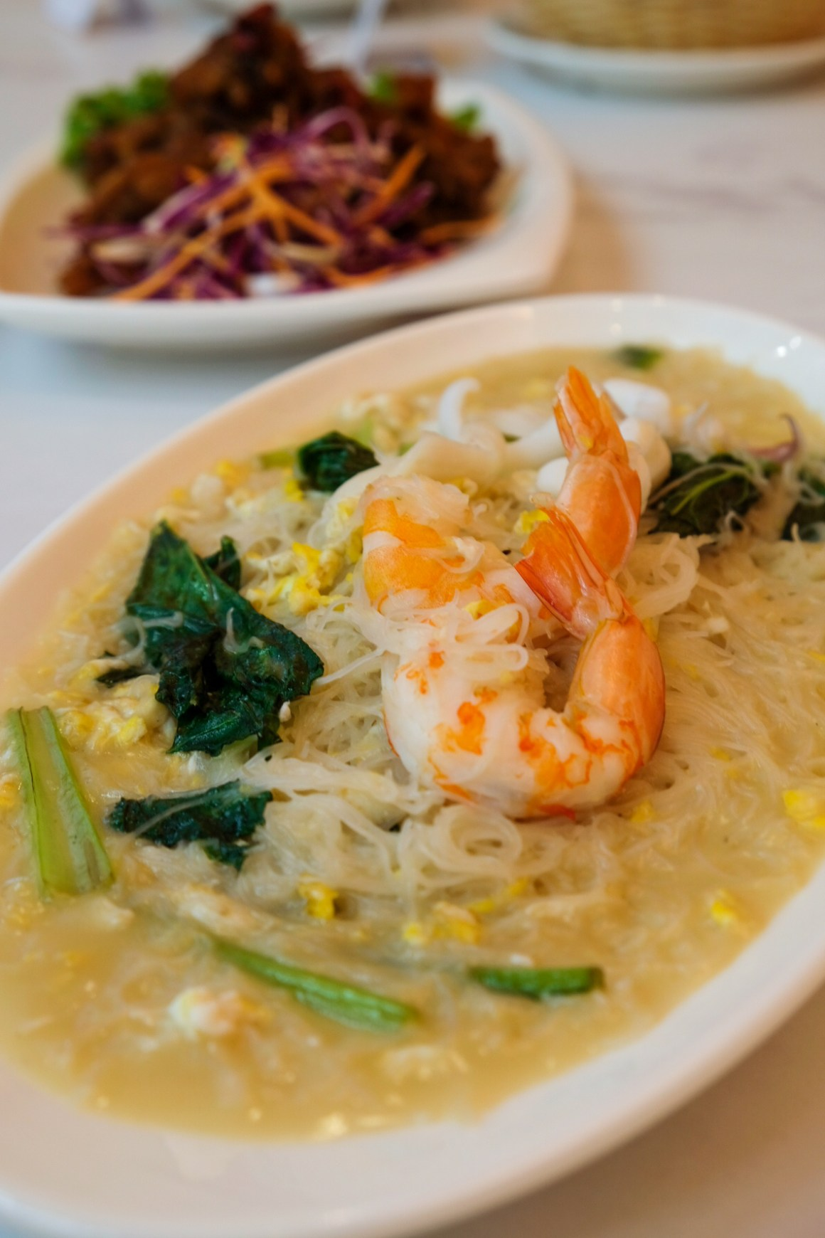 White Restaurant @ Suntec Serving Outlet Exclusive Mala Bee Hoon - The Original White Beehoon ($7 small)