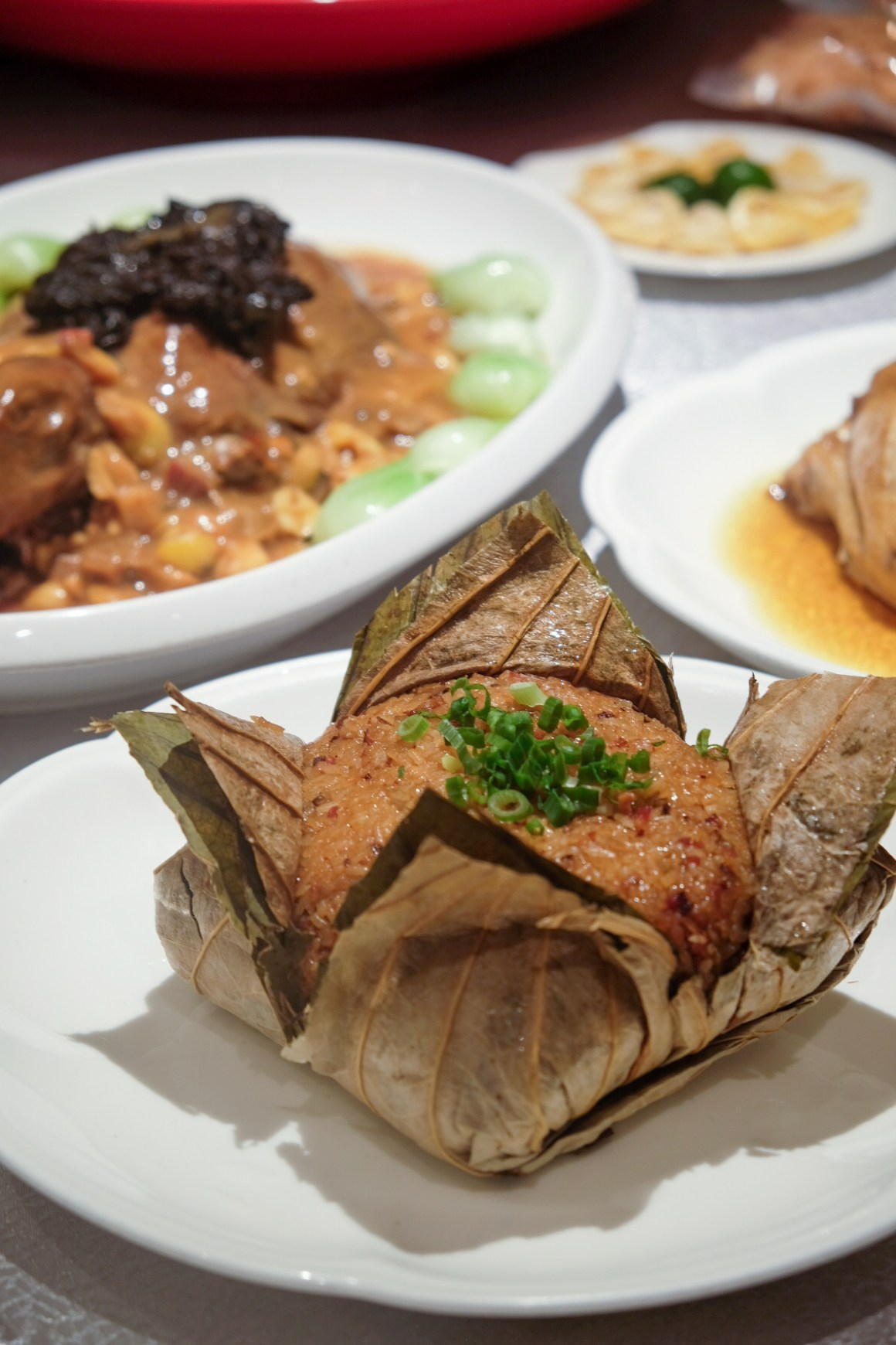 Usher 2020 Lunar New Year With Delectable Dining Options - Fortune Lotus Leaf Glutinous Rice