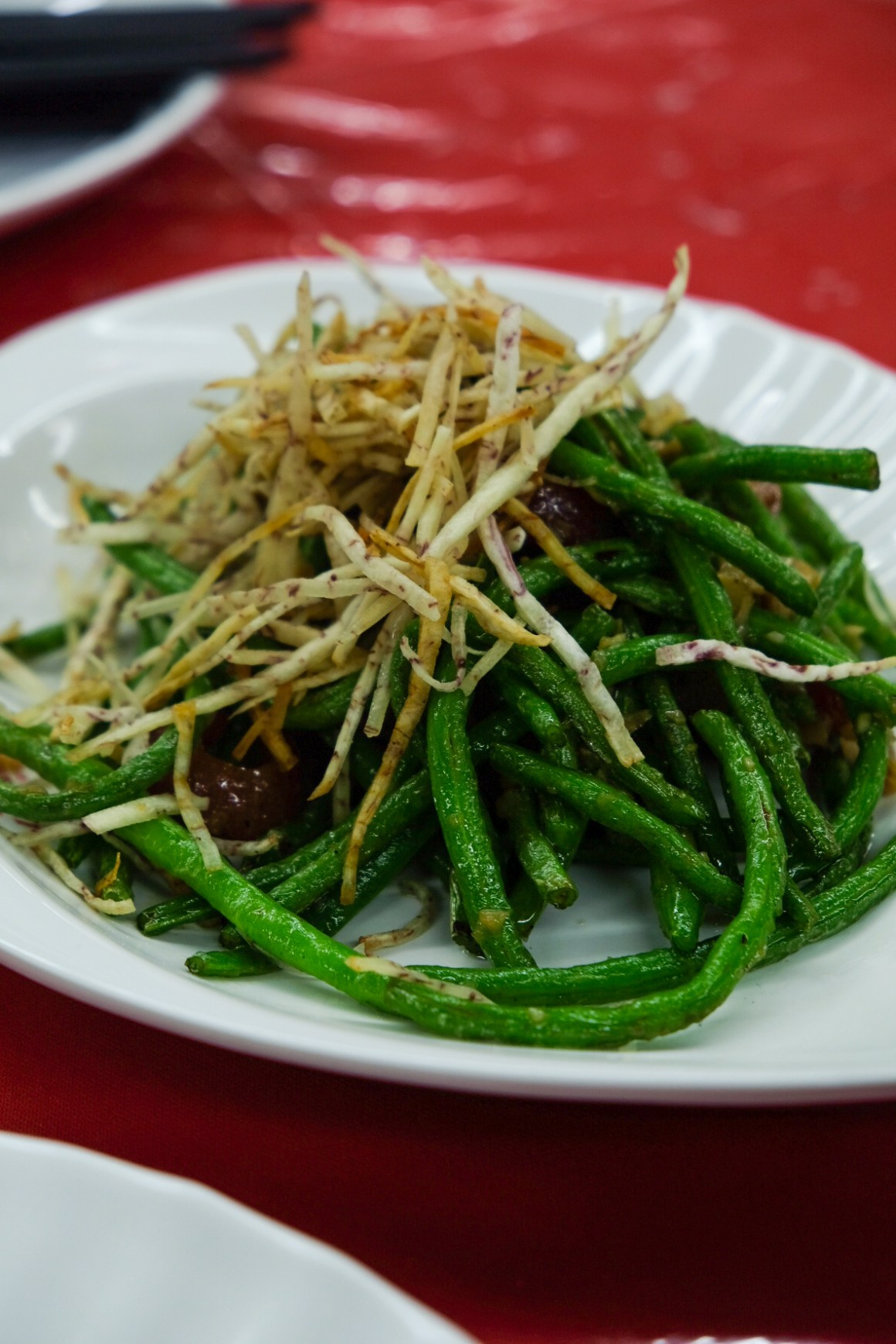 Lai Bao Wok Fried Fine Bean ($7/$9/$11)
