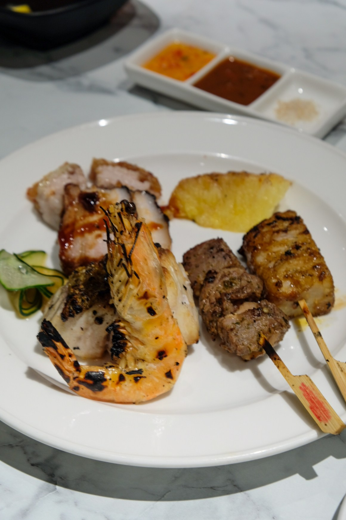 Asian Street Food Weekend A La Carte Buffet At Spice Brasserie - Charcoal Grill