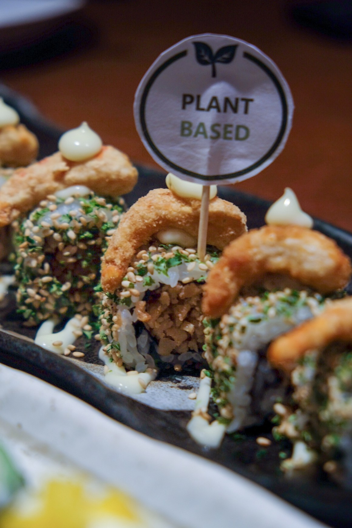 Sushi Tei First Plant-based Menu - Shokubutsu Ebi Roll ($9.80)