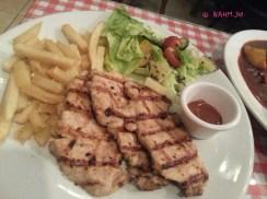 Dijon Mustard Pork Chop