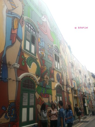 Haji Lane Street Wall Painting 1