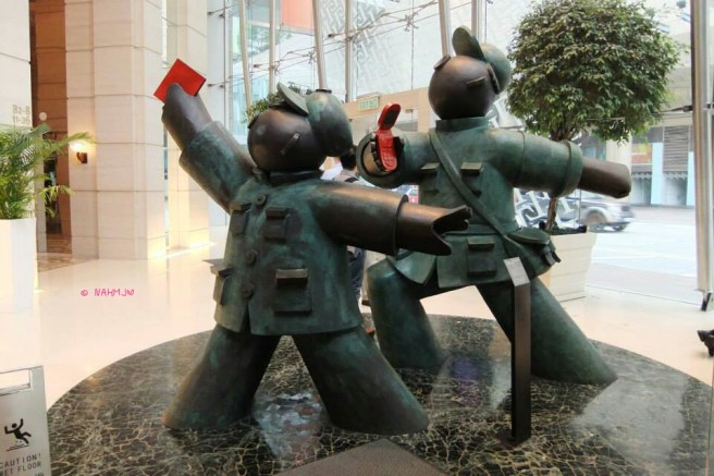 Red Guards - Going Forward! Making Money by Jiang Shuo (蒋朔), Front View