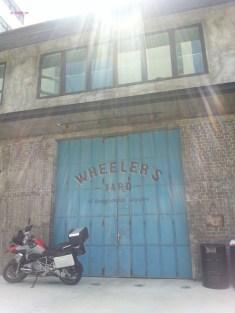 Wheeler's Yard Back door, facing Lorong Ampas