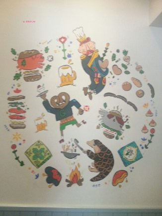 A wall painting