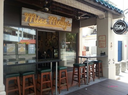 Miss Molly's Cafe Front