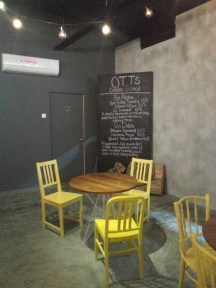 Another View with the Coffee Menu