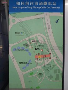 Map to Cable Car Station