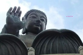 Front View of Big Buddha