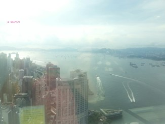 View from Monetary Museum of Victoria Harbour