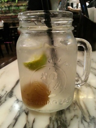 Iced Mixed Lime Soda