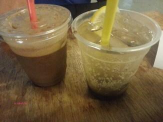 Drinks, Iced Kopi and Sparkling Limau