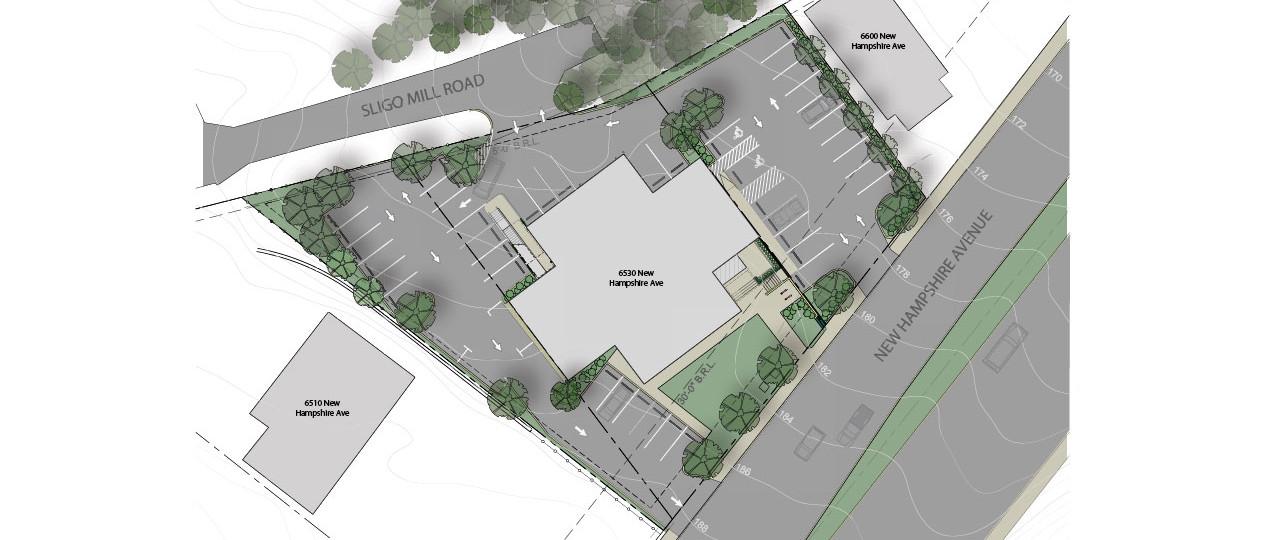 Incubator/Office Building | Site Plan