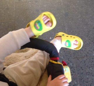 Die Schuhe der Wahl