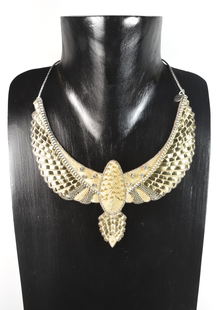 Plastron rock Codie | Gold | Photo 2