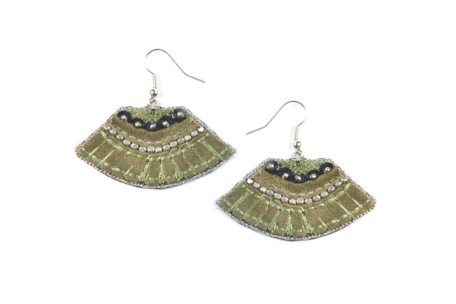 Patsy earrings - Military | Photo 1