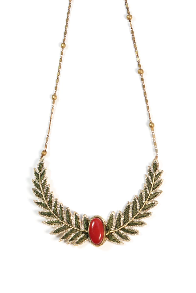 Collier chic Lorella | Military | Photo 3