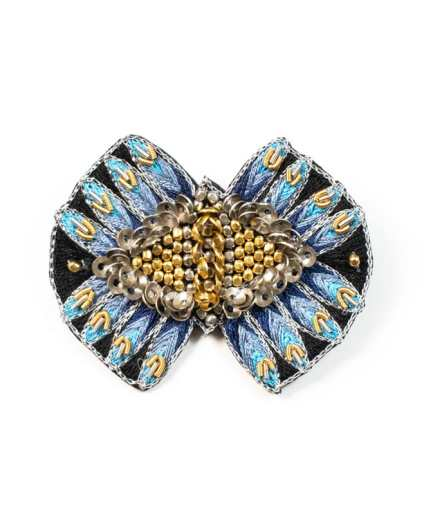 Broche Nicky Blue NAHUA