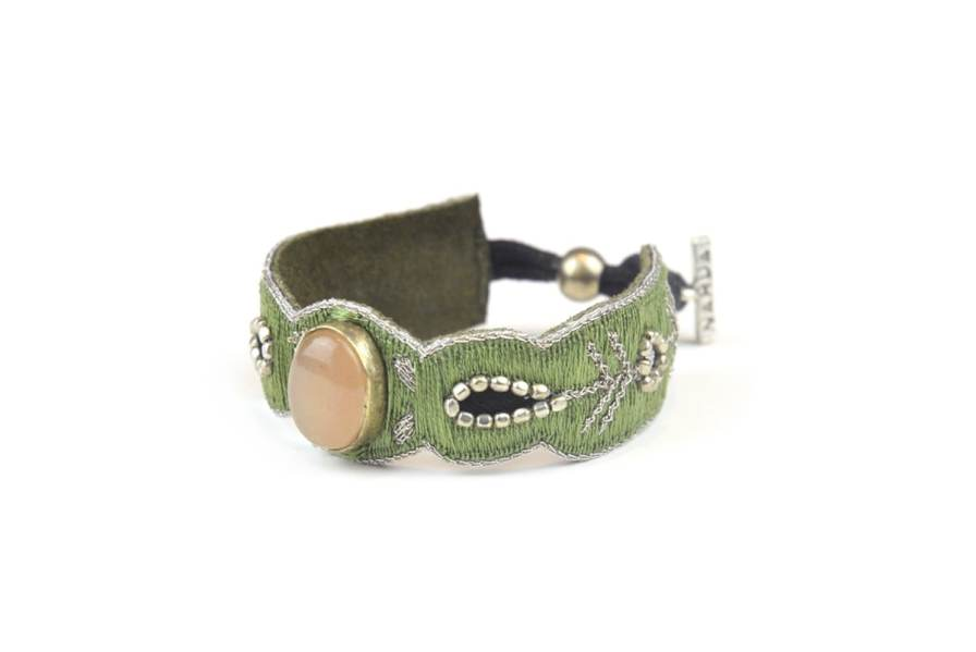 Bracelet chic Opaline | Pink/Mousse | Photo 2