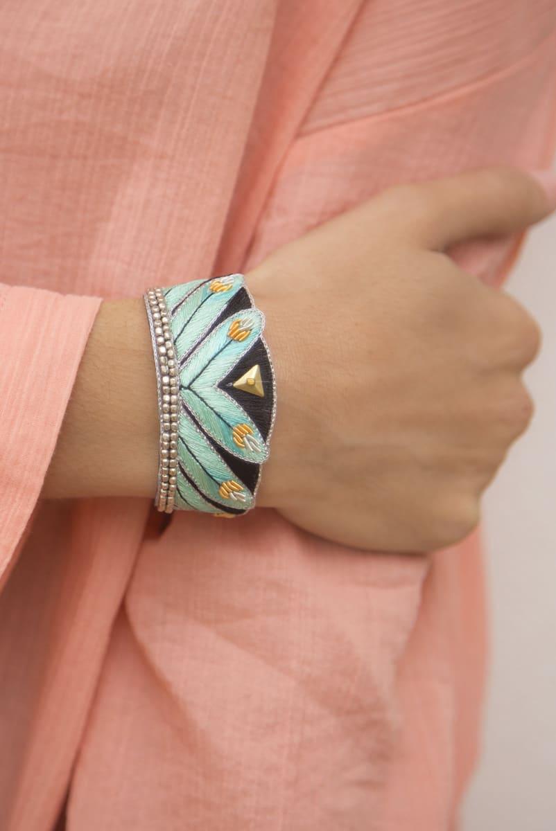 Bracelet ethnique Niall   Turquoise   Photo 1