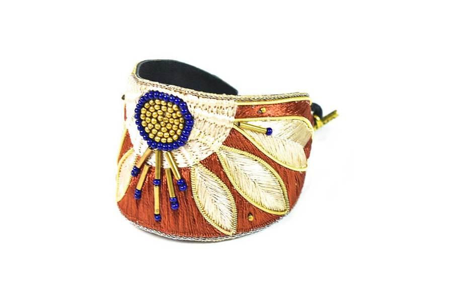 Bracelet ethnique Apauline | Copper | Photo 2