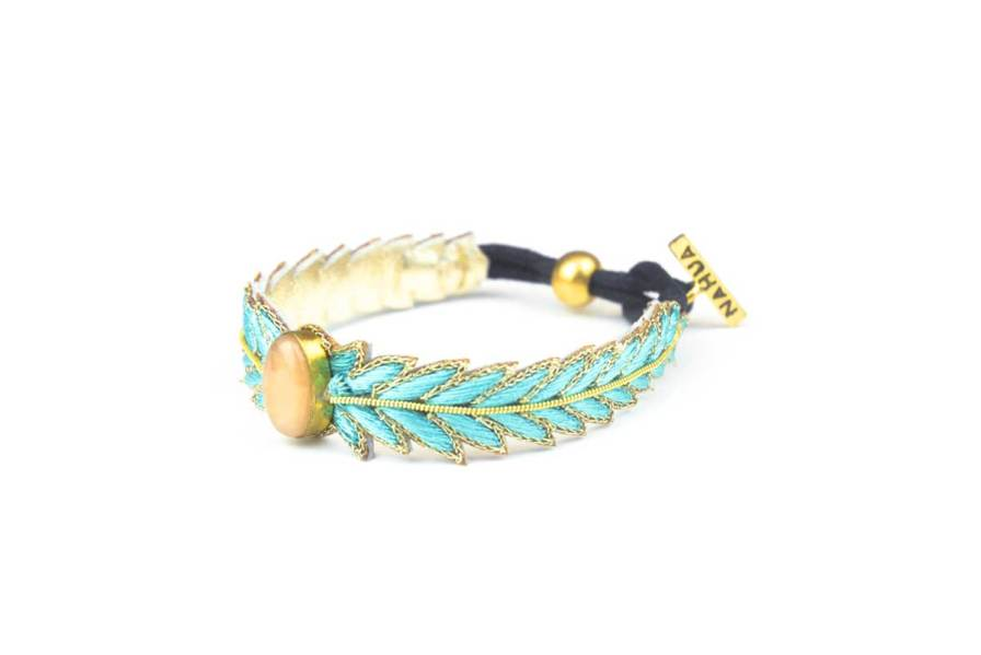 Bracelet chic Loriane | Aqua | Photo 2